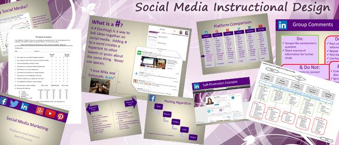 social media instructional design