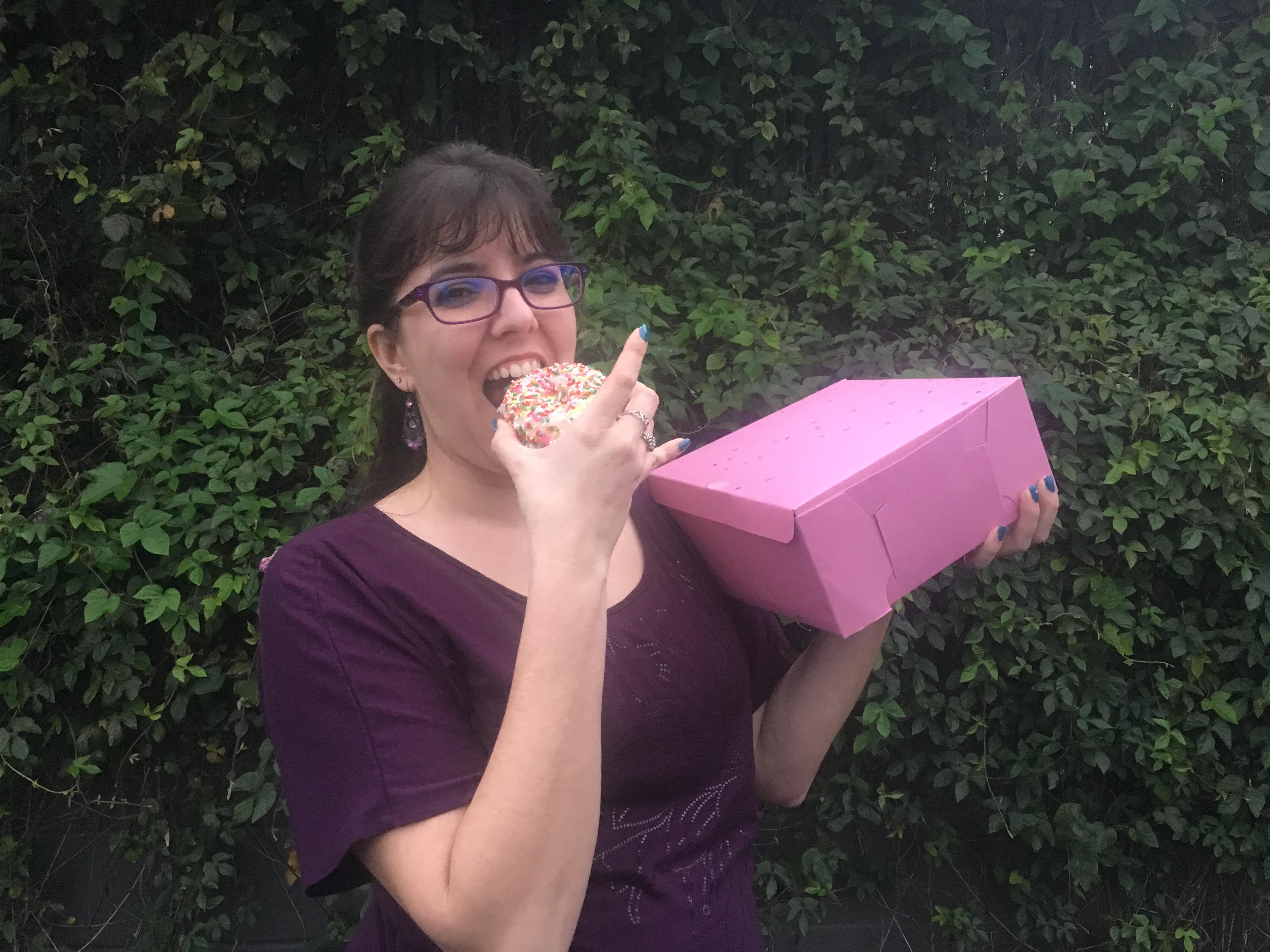 3 year anniversary with SCORE is the doughnut anniversary