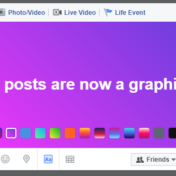 increase facebook engagement with text posts